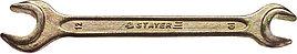 "Ключ STAYER ""MASTER"" гаечный рожковый, 10х12мм"
