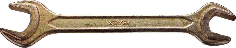"Ключ STAYER ""MASTER"" гаечный рожковый, 6х7мм"