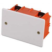 Коробка монтажная СВЕТОЗАР для полых стен, макс. напряжение 400В, с крышкой, 100х100х50мм, прямоугольная