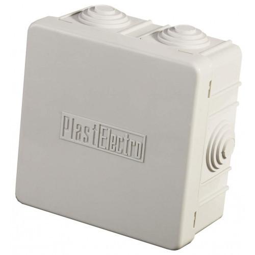 Коробка распределительная СВЕТОЗАР для наружного монтажа, макс. напряжение 400В, IP 54, 6 вводов, 85х85х40мм