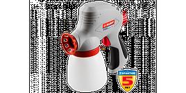 Краскопульт ЗУБР электрический, краскоперенос 300 мл/мин, вязкость краски 60 DIN, 0, 8л, 120Вт