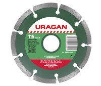 Круг отрезной алмазный URAGAN сплошной, для электроплиткореза, 230х25, 4мм