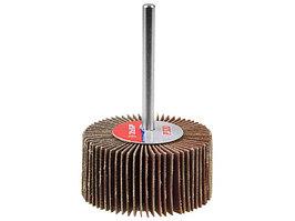 """Круг шлифовальный ЗУБР """"ЭКСПЕРТ"""" лепестковый торцевой, тип КЛТ 1, зерно-электрокорунд циркониевый, P80, 115х22, 2мм"""