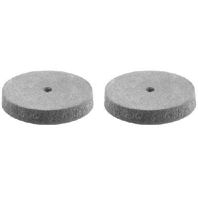 Круг STAYER шлифовально-полировальный, резина, карбон, d 22мм, 2шт
