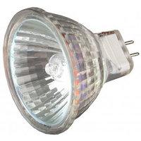 Лампа галогенная СВЕТОЗАР с защитным стеклом, цоколь GU4, диаметр 35мм, 20Вт, 12В