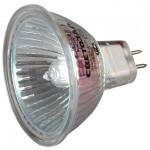 Лампа галогенная СВЕТОЗАР с защитным стеклом, цоколь GU5.3, диаметр 51мм, 20Вт, 12В