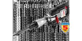 """Молоток ЗУБР отбойный """"Бетонолом"""", HEX-30, 35Дж, 15кг, 1300уд/мин, 1600Вт, АВТ, кейс"""