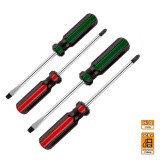 Набор DEXX: Отвертки, закал сталь, маслобензост рукоятка, SL: 3x75, 5x100, 6x100, PH: 0x75, 1x100, 2x100, 6 пред