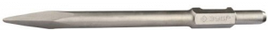 """Зубило ЗУБР """"ЭКСПЕРТ"""" пикообразное для отбойных молотков и бетоноломов, шестигранный хвостовик 28мм, 400мм"""