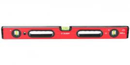 """Уровень ЗУБР """"МАСТЕР"""" """"УС - 5"""" коробчатый усиленный, фрезерованный, 3 глазка, крашенный, с ручками, 40см"""