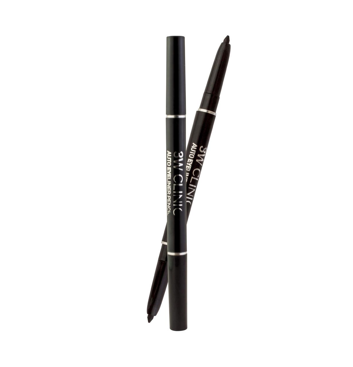 3W CLINIC Auto Eye liner pencil Автоматическая подводка для глаз СЕРО-КОРИЧНЕВЫЙ