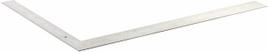 """Угольник ЗУБР """"ЭКСПЕРТ"""" плотницкий цельнометаллический, гравированная шкала (шаг 1мм), 600х400мм"""