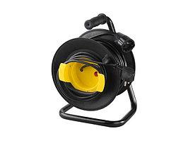 Удлинитель СВЕТОЗАР электрический с заземлением на катушке, евро, 1 гнезда, 50м