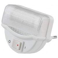 Светильник-ночник СВЕТОЗАР, линейная люминесцентная лампа, с выключателем, 1W, цветовая температура 2700К