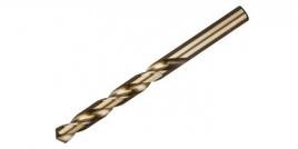 """Сверло ЗУБР """"ЭКСПЕРТ"""" КОБАЛЬТ по металлу, цилиндрический хвостовик, быстрорежущая сталь Р6М5К5, класс точн. А1, 5х86мм"""