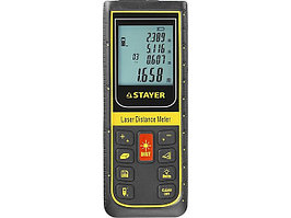"""Дальномер STAYER лазерный, """"SDL-50"""", точность 2мм, дальность 50м, 2 точки отсчета"""