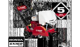 """Швонарезчик ЗУБР """"ПРОФЕССИОНАЛ"""", бензиновый, диск 350 (25.4)мм, рез 115мм, бак для воды, двигатель Honda GX160"""