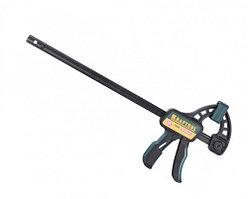 """Струбцина KRAFTOOL """"EcoKraft"""" ручная пистолетная, пластиковый корпус, 450/650мм, 150кгс"""