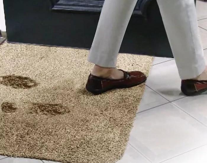 Коврик дверной супервпитывающий «Clean Step Mat»