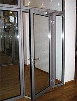 Двери Распашные из алюминиевого сплава