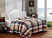 Плед - Покрывало на кровать. Велсофт. 220х240 см