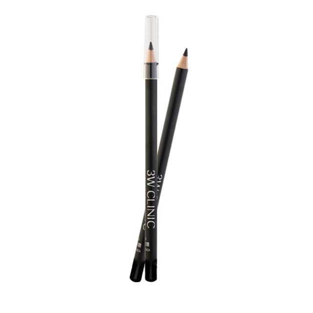 "3W CLINIC eyebrow pencil 01 Black Карандаш для бровей ""черный"""