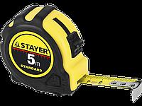 STAYER MASTER 10м / 25мм рулетка в ударостойком обрезиненном корпусе