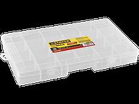 "Органайзер STAYER ""MULTYSHEL MINI"" пластиковый для крепежа и принадлежностей, 382х234х48мм (15"")"