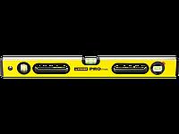 """Уровень STAYER """"PROFI"""" PROSTABIL профессион коробчатый, усилен, 2 фрезер поверх, 3 ампулы (1 поворотная), ручки, 120 см"""