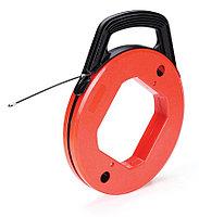 Протяжка-стеклопруток со сменными винтовыми наконечниками в пластиковой кассете