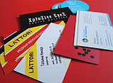 Изготовление визиток в Алматы, фото 2