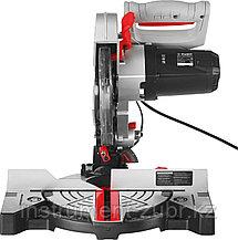 Пила торцовочная, ЗУБР ЗПТ-210-1400 Л, d= 210 x 30 мм, 1300 Вт, 5500 об/мин, лазер, фото 3