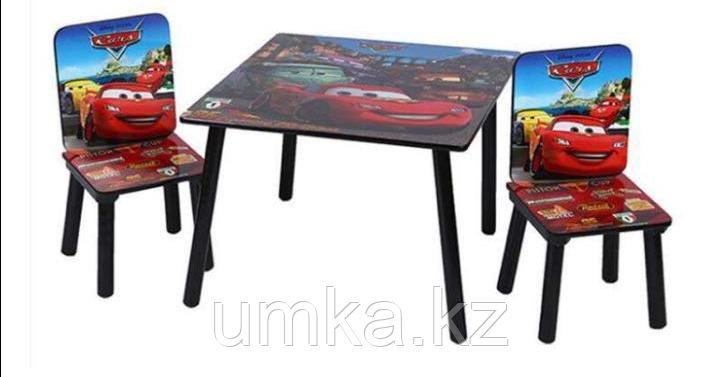 """Столик с двумя стульчиками """"Тачки"""""""