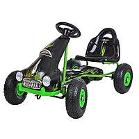 Педальный картинг Retro зеленый, фото 1