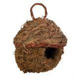 Trixie 5622 Плетеное гнездо для птиц из травы. - 11 см, фото 1