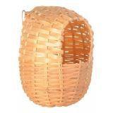 Trixie 5602 Плетеный домик для птиц из бамбука - 11х12 cм, фото 1