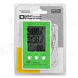 Гигрометр термометр DC105 ( два датчика температуры внутренний и внешний ), фото 2