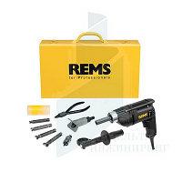 Электрический отбортовщик/расширитель REMS Hurrican Set 12-15-18-22