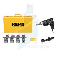 Ручной электрический отбортовщик/расширитель труб REMS  Twist/Hurrican 12-15-18-22