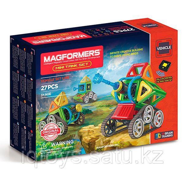Magformers Mini Tank Set Магформерс Мини-танк
