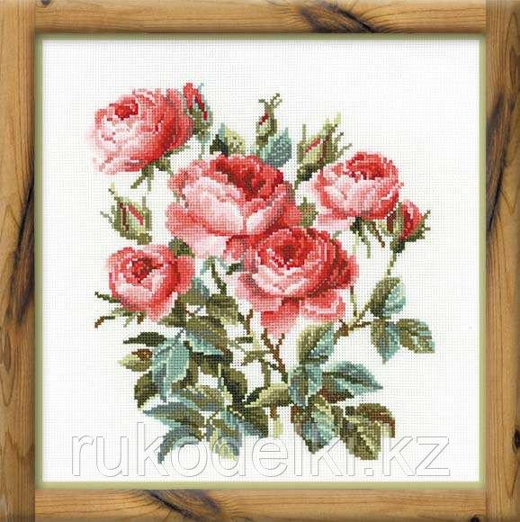 """Набор для вышивания крестом """"Садовые розы"""""""