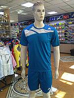 Футбольная форма Adidas, голубая