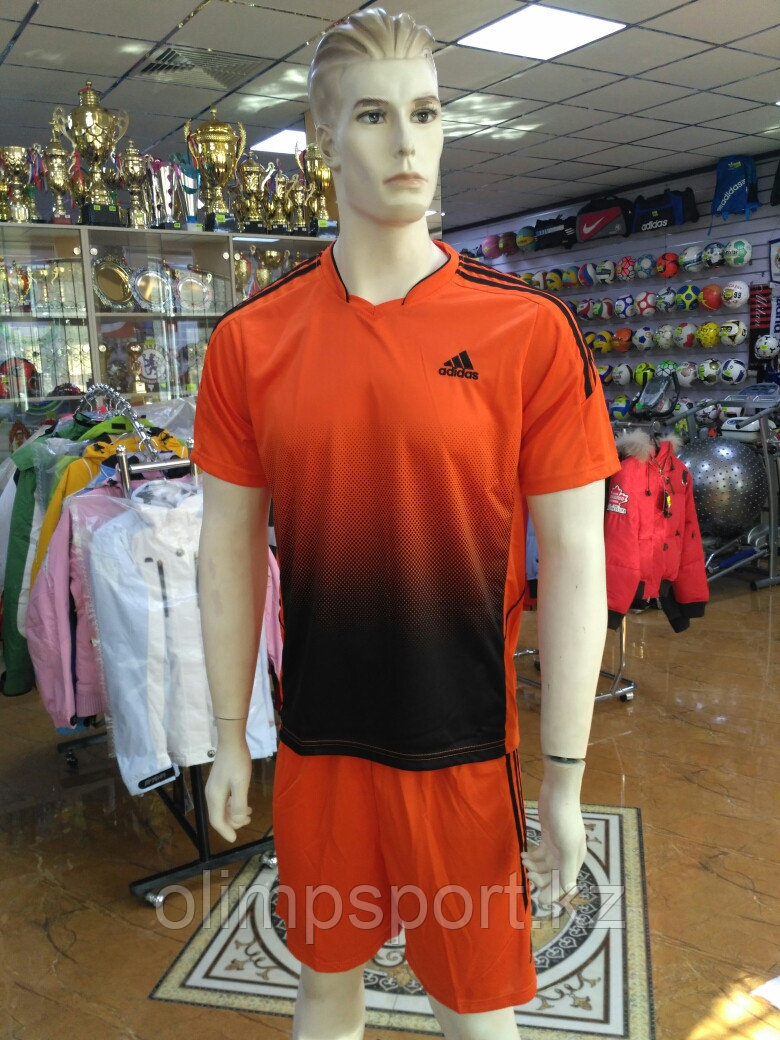 Футбольная форма Adidas, оранжевая