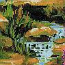 """Набор для вышивания крестом """"Горный ручей"""", фото 3"""