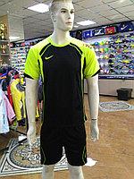 Футбольная форма Nike, черно-желтая