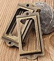 фурнитура для шкатулок рамка для бирки, фото 4