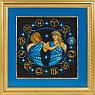 """Набор для вышивания крестом """"Знаки Зодиака. Близнецы"""", фото 2"""