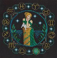 """Набор для вышивания крестом """"Знаки Зодиака. Дева"""""""