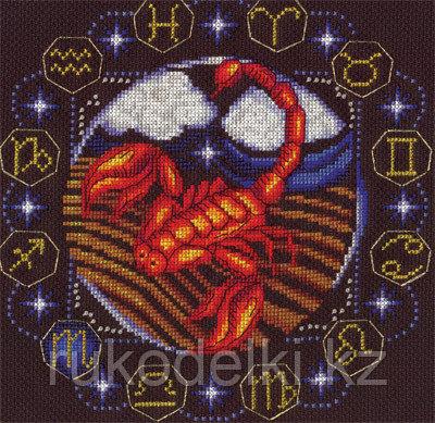 """Набор для вышивания крестом """"Знаки Зодиака. Скорпион"""""""