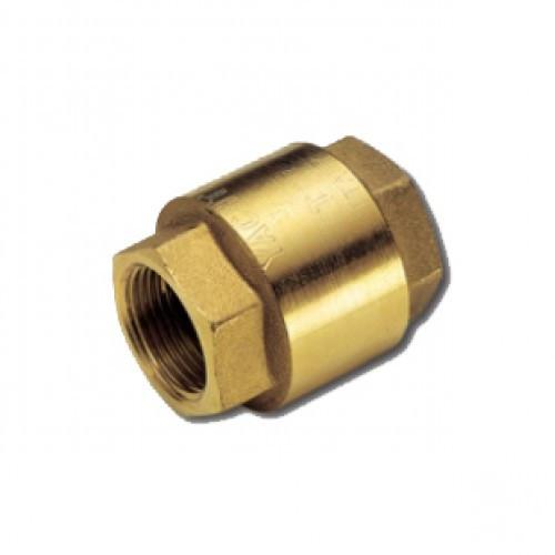 Клапан обратный 1/2 М-М с металлическим затвором
